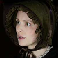Laura Fraser in the title role of BBC drama 'Florence Nightingale'.
