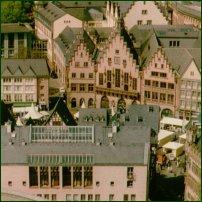 Frankfurt old town.
