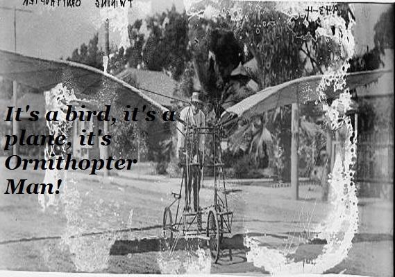 Ornithopter Man.