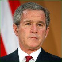 George W Bush.
