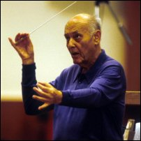 Sir Georg Solti, who holds the record for the most career Grammy Awards.