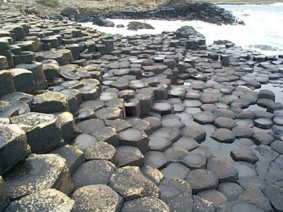The Giant's Causeway, Antrim, Northern Ireland.