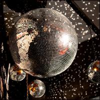 A glitterball.