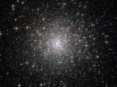 Image of a globular cluster, provided by NASA.