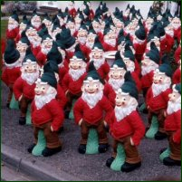 An army of gnomes.