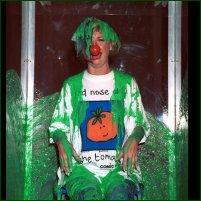 Jane Horrocks, a victim of green goo.