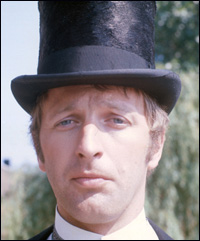 Graham Chapman, wearing a top hat.