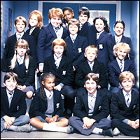 Grange Hill school photo.