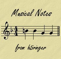 h5notes banner, showing the first bar of a composition