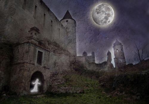 Halloween Castle by Tavaron