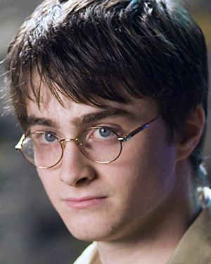 Daniel Radcliffe, who plays Harry Potter in the film series.