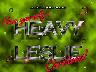 Heavy Leslie album cover
