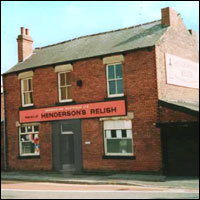 The Henderson's Relish factory in Sheffield.
