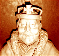 A bust on Henry VIII - Model by Community Artist Jimster.