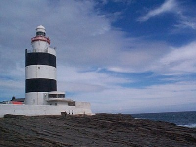 The Hook Head Lighthouse, Co Wexford, Ireland.