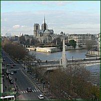 The Ile de la Cite, Paris.