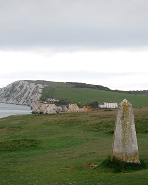 Coastal path at Chale in the Isle of Wight