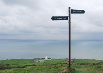 Isle of Wight Coastal Path Sign