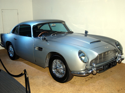 James Bond's Aston Martin DB5.