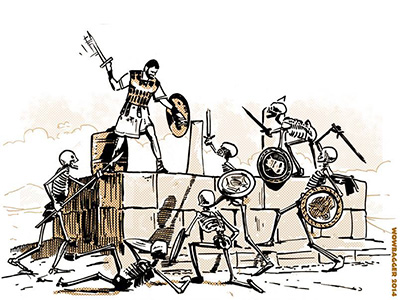 Jason and the Argonauts - illustration by Wowbagger.