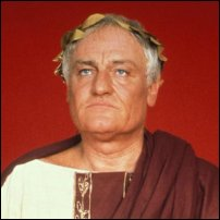 Charles Gray as Julius Caesar in 1979.