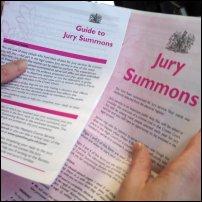 A jury summons.