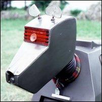 Iconic robotic dog K-9.