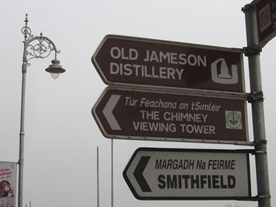 Signs in Ireland.