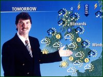 The British weatherman John Kettley.