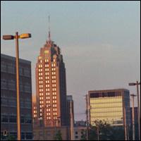 The Lansing Boji Tower, Michigan.