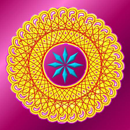 Mandala artwork.