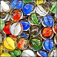Some marbles.