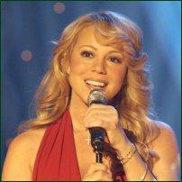 Singer Mariah Carey.