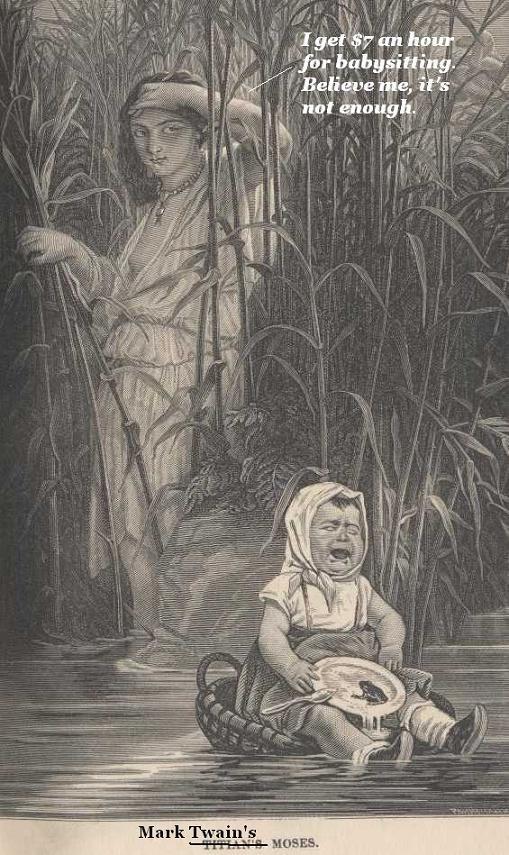 Mark Twain's Titian's Moses.