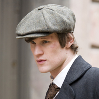The new Doctor Matt Smith in a previous role.