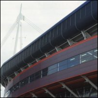 The Millennium Stadium Cardiff Arms Park.