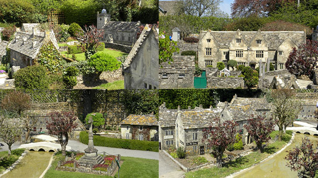 Photographs of the Model Village in Bourton-on-the-Water.