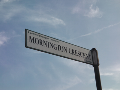 Mornington Crescent, the setting of the game