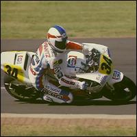 A racing motorbike.