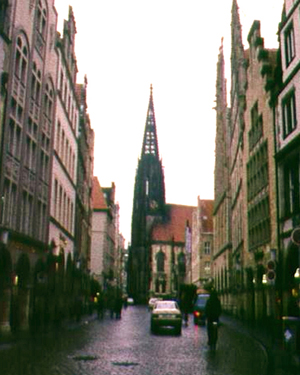 A Munster street scene in Germany
