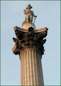 Nelson's Column, one of the monuments Arthur Furguson 'sold.'