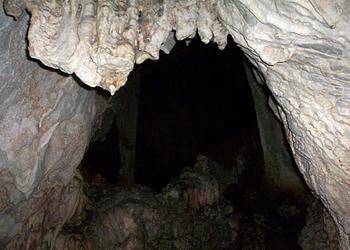 Inside the Nerja Caves, Andalucia, Spain