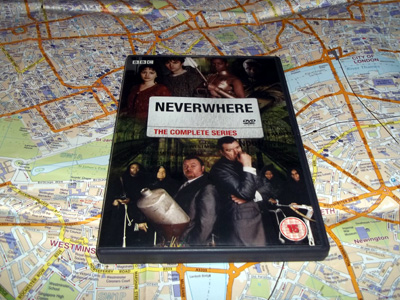 The television series of Neverwhere, set in London Below