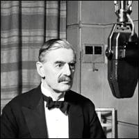 Neville Chamberlain in 1937.