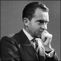 Richard Nixon in 1958.