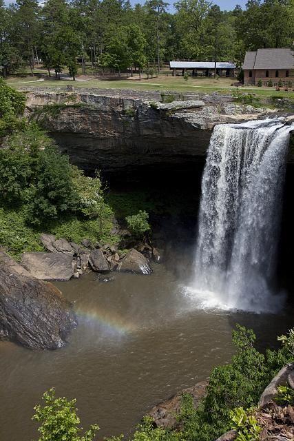 Noccahula Falls in Gadsden, Alabama, USA