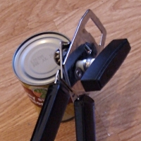 A can opener.