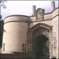 The gatehouse at Nottingham Castle.