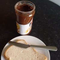 Spreadable chocolate.