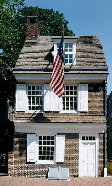 Betsy Ross House around 2000.